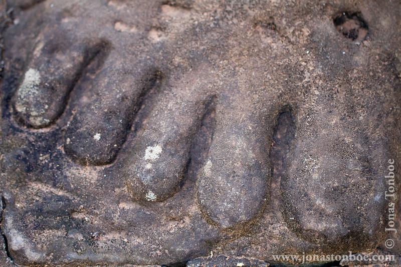Asura Foot Detail