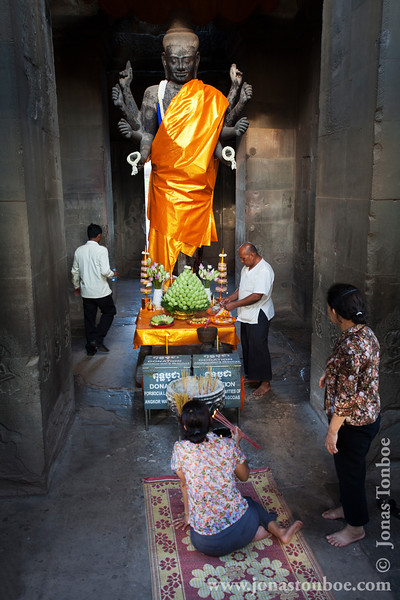 Buddha Status At West Entrance