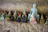 Reclining Buddhas and Smaller Buddhas