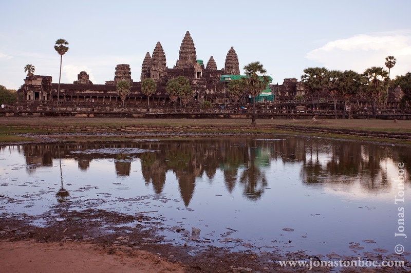Reflecting Pool and Main Temple