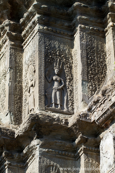 Devata Bas-relief Decoration