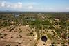 Angkor Wat Seen From Balloon