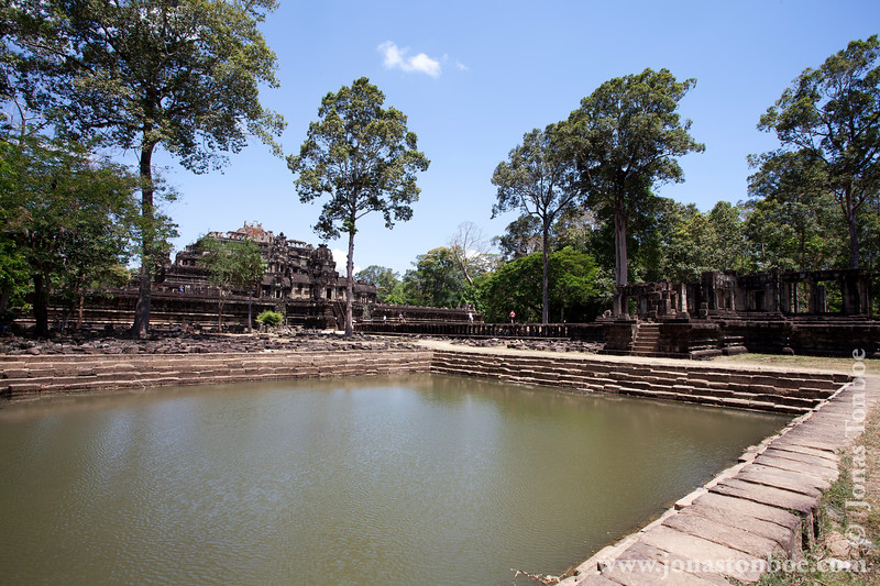 Main Temple and Pool