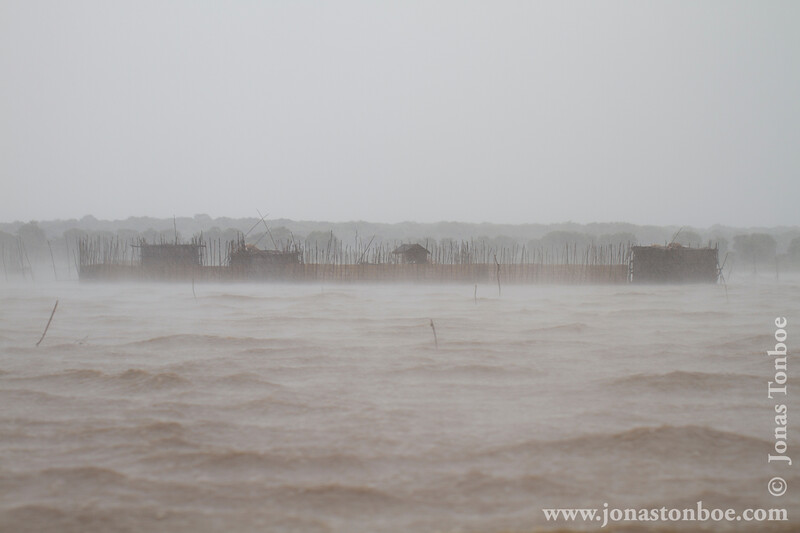 Caught on a Boat in a Freak Storm on Tonle Sap Lake