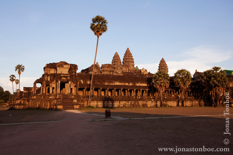 Main Temple at Sunset