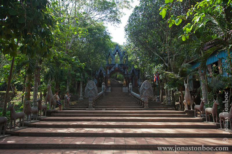 Stairs to Main Temple