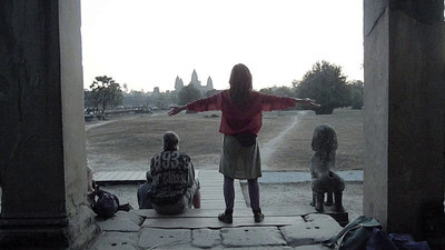 Angkor Wat: One of the 7,000 people a day