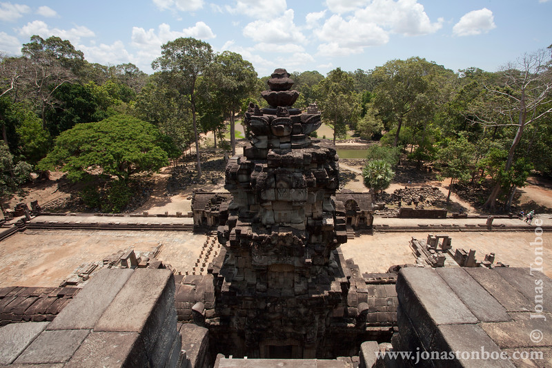 View From Upper Level of Main Temple