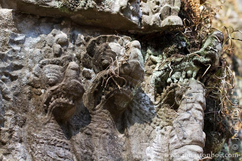 Naga Bas-relief Decoration