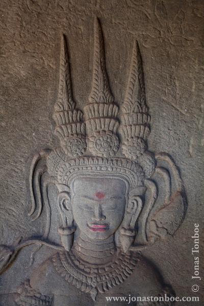 Devata Bes-relief Decoration