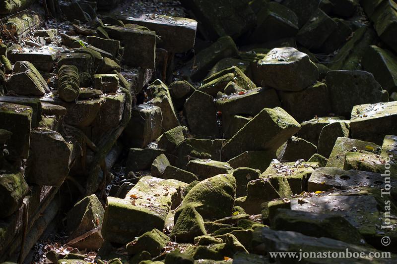 Main Temple Stones