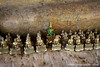 Reclining Buddhas and Smaller Buddhas