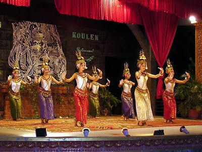 Beautifully performed Siem Reap restaurant show.