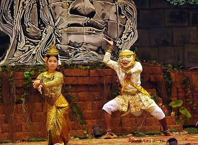 Beautifully performed Siem Reap restaurant show.