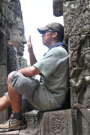 Cambodia- AngkorThom's Bayon Temple