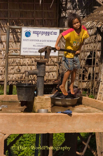 Give Us Our Daily Water, Chong Khneas, Cambodia