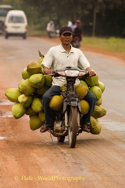 The Coconut Vendor, Siem Reap Cambodia