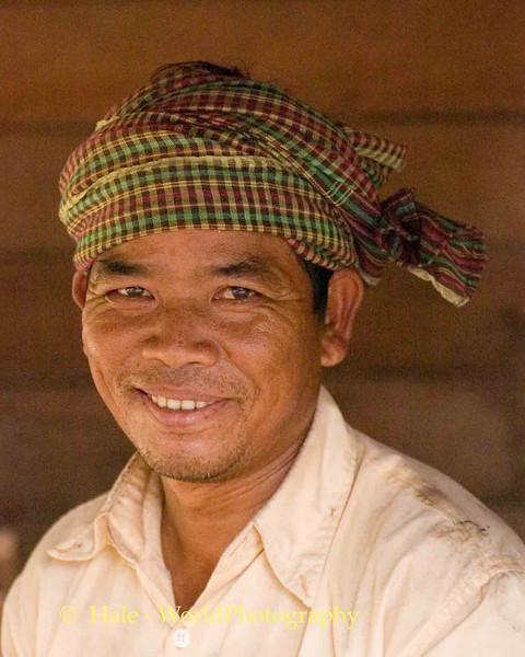 Khmer Man In Phnom Kulen, Cambodia
