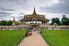 The King's Palace in Phnom Penh. I had the great fortune to meet a group of local working photographers here who showed me a bit around the city.