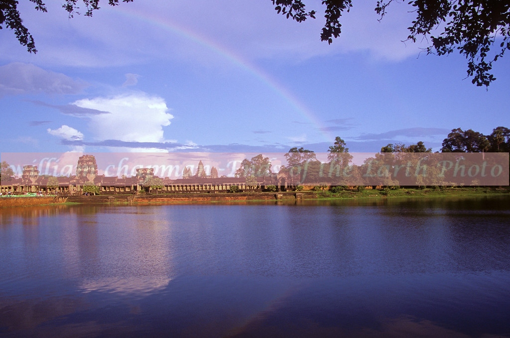 Rainbow over Angkor Wat - Cambodia