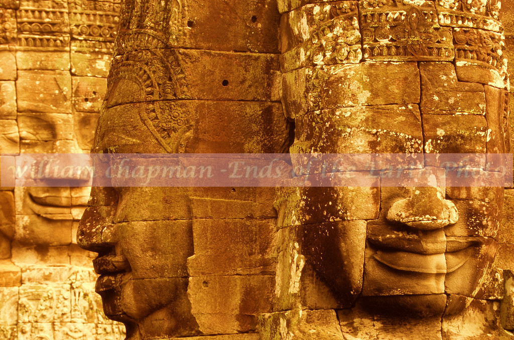 ThreeFaces of the Bayon- Angkor- Cambodia