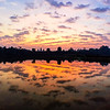 Sunrise at Angkor Wat temple complex, Siem Reap, Cambodia