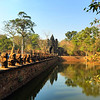 Entrance to the Bayon Temple, Angkor, Cambodia