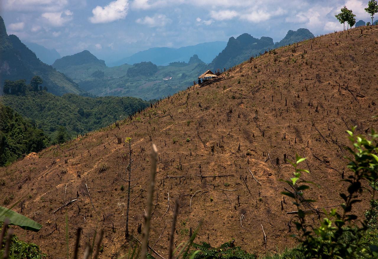 These are some of the views between Luang Prabang, Laos, and Vang Vieng, Laos.