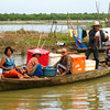 On the river between Battambang and Siem Riep