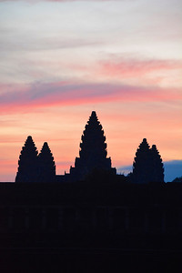 Angkor Wat (East Gate )Angkor Temples Bike Trip Cambodia September 2015