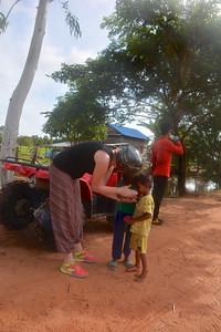 Jan Phnom Kulen National Park 4x4 Quad Bikes Siem Reap Cambodia October 2015