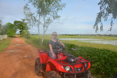 Emma Phnom Kulen National Park 4x4 Quad Bikes Siem Reap Cambodia October 2015
