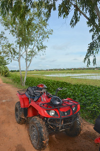 Phnom Kulen National Park 4x4 Quad Bikes Siem Reap Cambodia October 2015