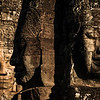 The faces of Bayon temple