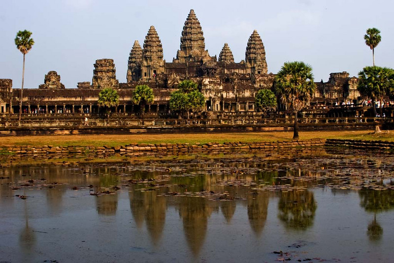 Classic View of Angkor Wat