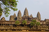 Angkor Wat is one mile on each of four sides. It is symmetrical, so different views look more or less alike.