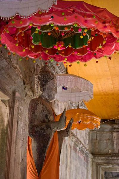 Buddhist shrines inside