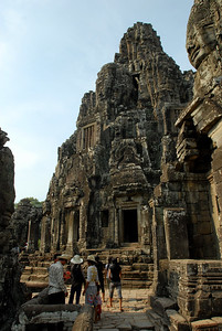 © Joseph Dougherty. All rights reserved.   Central Tower at Bayon