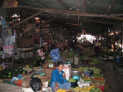 walmart has less items than this siemreap marketplace