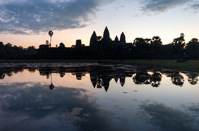 Angkor Wat temple - sunrise