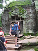 J1 in his element at Ta Prohm