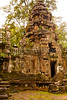 Tower at Preah Khan, a temple built in the 12th century