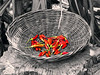 Cambodia - Siem Reap - Bampingreach - chiles in basket