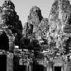 Doorways and towers, Bayon Temple, Angkor Thom, Siem Reap, Cambodia.