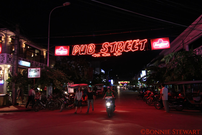 Siem Reap City scene