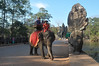1206  Cambodia - Siem Reap, south gate Angkor Thom