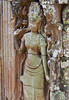 Cambodia - Siem Reap - Angkor - Ta Prohm - stonework - bare-breasted woman