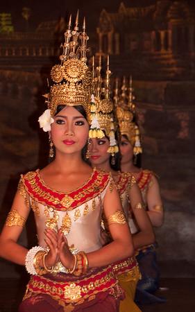 Khmer cultural dancers