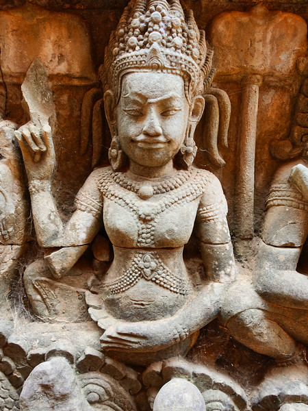 Bayon Sandstone Carving