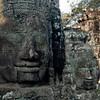 Bayon Temple, faces of Avalokiteshvara